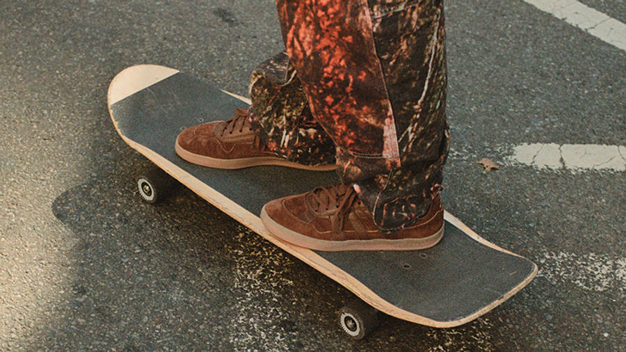 Mark Gonzales x adidas Aloha Super Karol Winthorp FZ1039 on skate