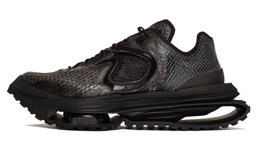 Matthew M Williams x Nike Zoom MMW 4 Black DC7442-001