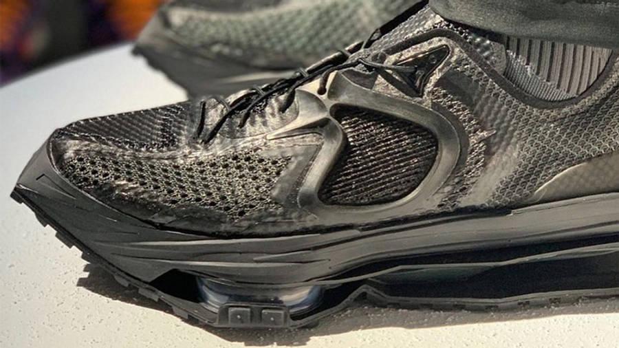 Matthew M Williams x Nike Zoom MMW 4 Black On Foot