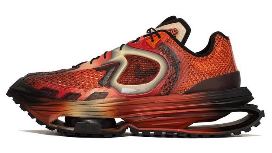 Matthew M Williams x Nike Zoom MMW 4 Maroon DC7442-800