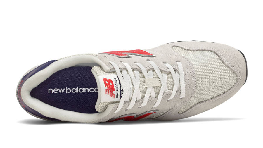 New Balance 373 Off White Red