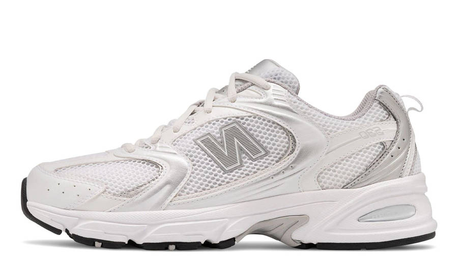 New Balance 530 White Silver Metallic