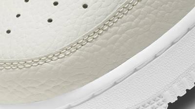 Nike Air Force 1 07 Light Bone Closeup