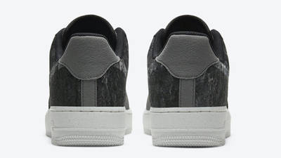 Nike Air Force 1 07 LV8 Recycled Black Electric Green Back