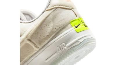 Nike Air Force 1 Experimental Sail Atomic Orange Back Closeup