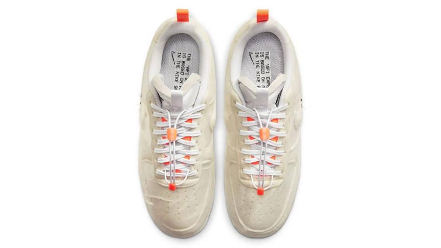 Nike Air Force 1 Experimental Sail Atomic Orange Middle