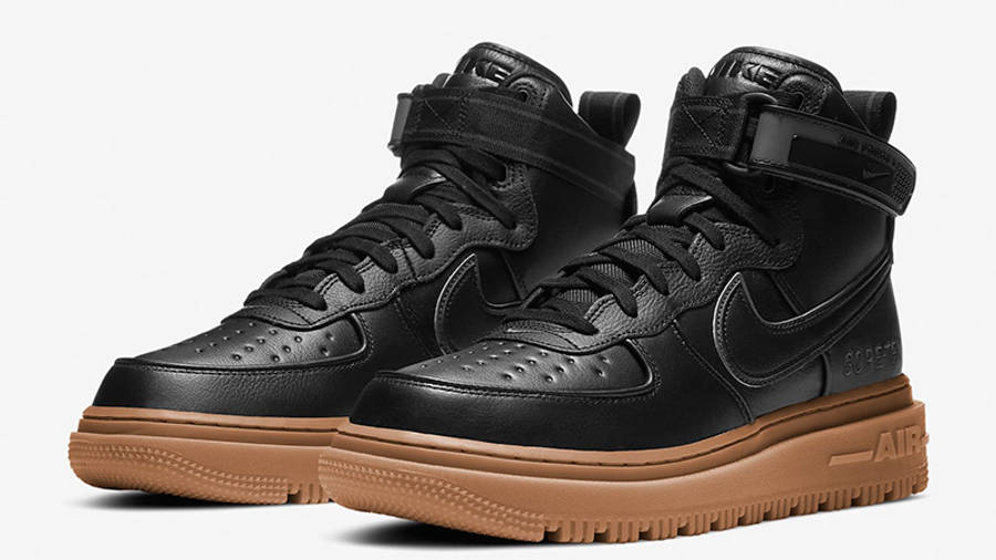 Nike Air Force 1 High Gore-Tex Boot Black Gum CT2815-001 front