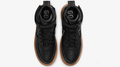 Nike Air Force 1 High Gore-Tex Boot Black Gum CT2815-001 middle