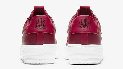 Nike Air Force 1 Pixel Team Red Back