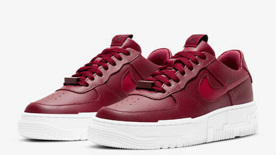 Nike Air Force 1 Pixel Team Red Front