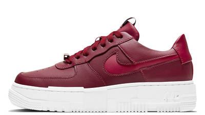 Nike Air Force 1 Pixel Team Red