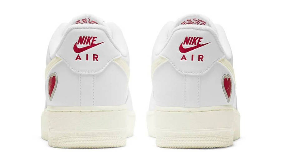 Nike Air Force 1 Valentine's Day 2021 Back