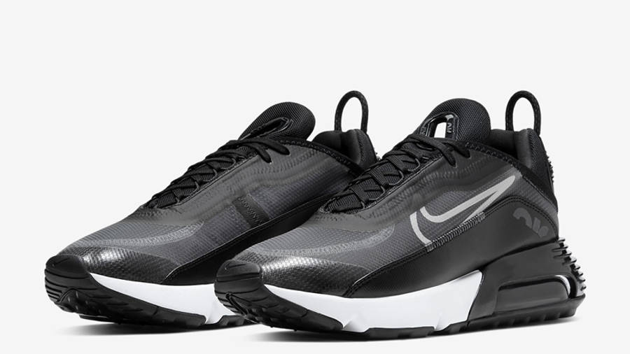 Nike Air Max 2090 Black Wolf Grey Anthracite Front