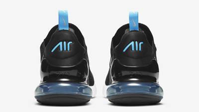 Nike Air Max 270 Black Light Blue Fury Back