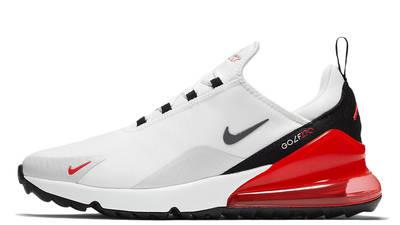 Nike Air Max 270 Golf White Black Red