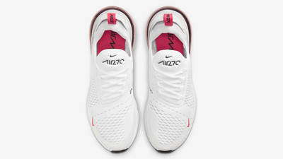 Nike Air Max 270 White Laser Fuchsia Middle