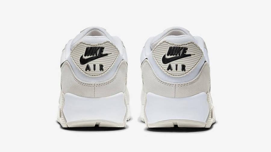 Nike Air Max 90 Light Bone Black DH4103-100 back