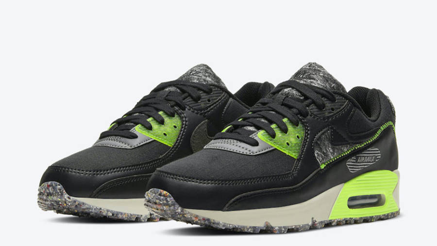 Nike Air Max 90 M2Z2 Black Electric Green Front