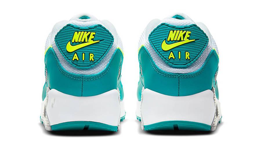Nike Air Max 90 Spruce Lime CZ2908-100 back