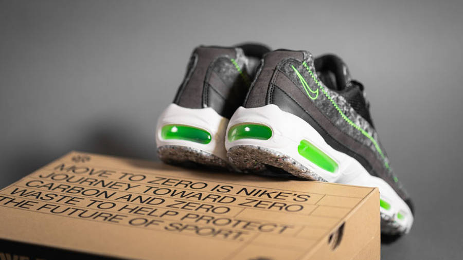 Nike Air Max 95 Recycled Felt Electric Green Lifestyle Back