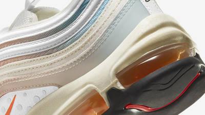 Nike Air Max 97 The Future is in the Air Sail Infrared Closeup