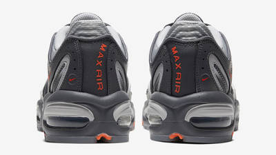 Nike Air Max Tailwind 4 SE Dark Grey Total Orange Back