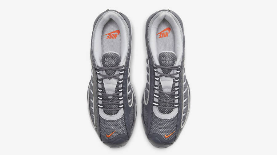 Nike Air Max Tailwind 4 SE Dark Grey Total Orange Middle