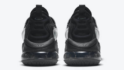 Nike Air Max Zephyr Black Anthracite Back