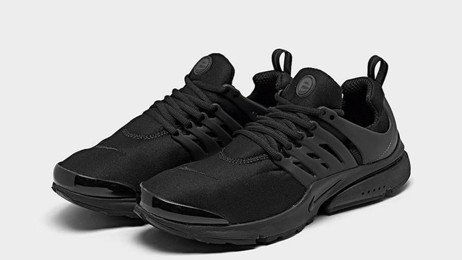 Nike Air Presto Triple Black Front