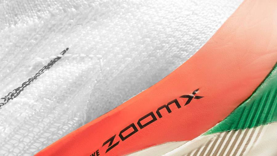 Nike Air Zoom Alphafly Next% Eliud Kipchoge Closeup