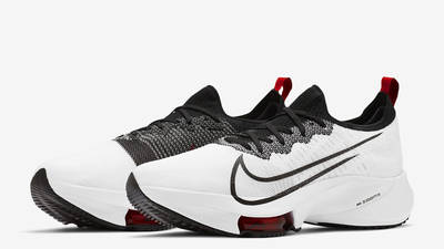 Nike Air Zoom Tempo NEXT% White University Red Front