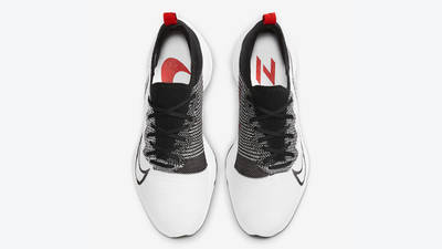 Nike Air Zoom Tempo NEXT% White University Red Middle