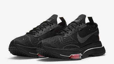 Nike Air Zoom Type Black Bright Crimson Front