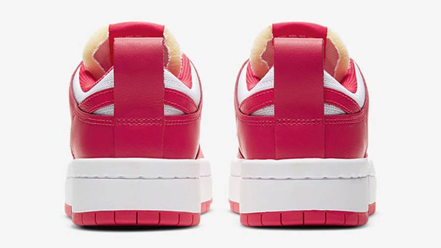 Nike Dunk Low Disrupt Siren Red White Back