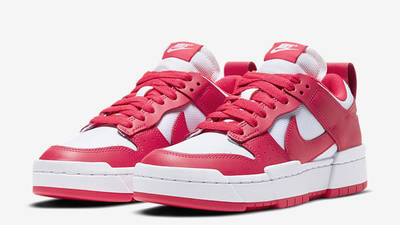 Nike Dunk Low Disrupt Siren Red White Front