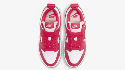 Nike Dunk Low Disrupt Siren Red White Middle