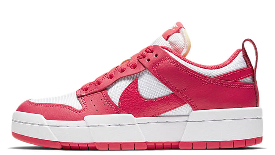 Nike Dunk Low Disrupt Siren Red White