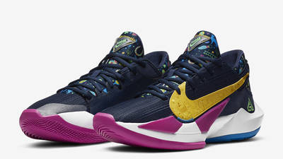 Nike Zoom Freak 2 Midnight Navy Front