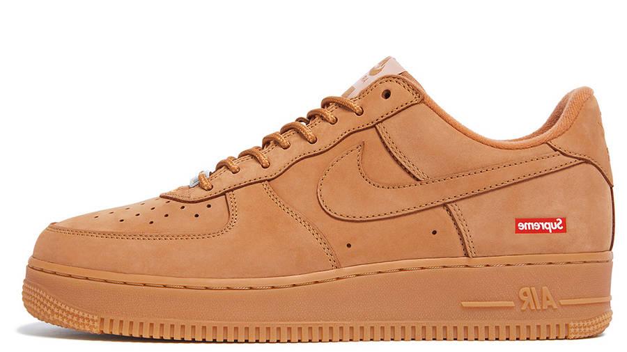 Supreme x Nike Air Force 1 Flax