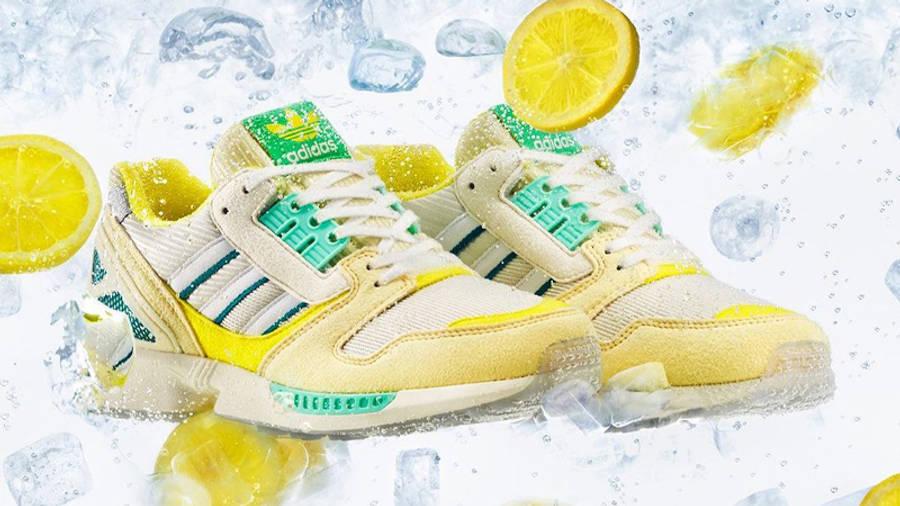 adidas ZX 8000 Frozen Lemonade Lifestyle