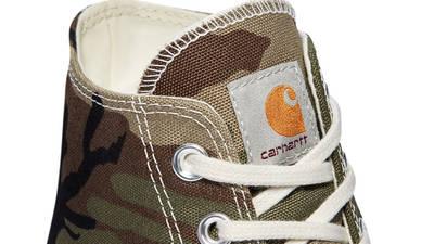 Carhartt WIP x Converse Chuck 70 Hi Covert Green Tongue
