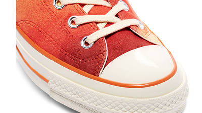 Concepts x Converse Chuck 70 Southern Flame Hi Orange Front Closeup