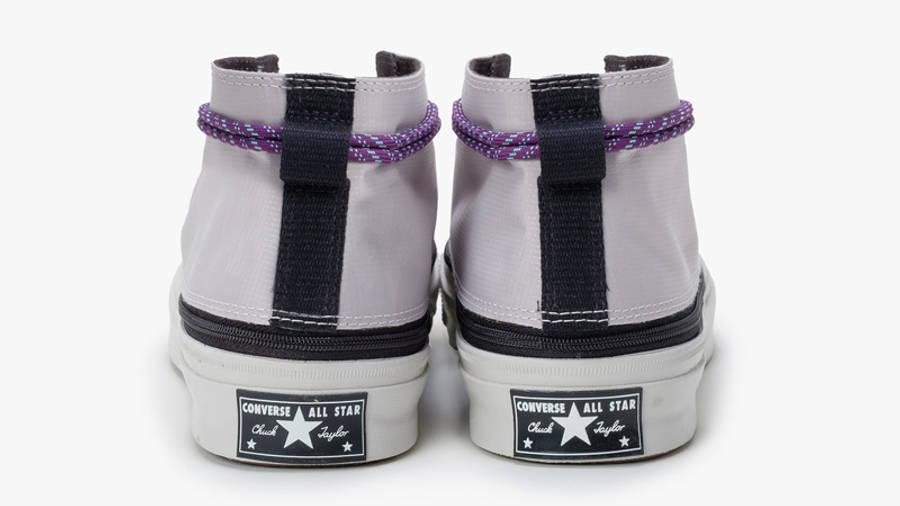 Converse Deck Star Zip Mid Pale Putty Back