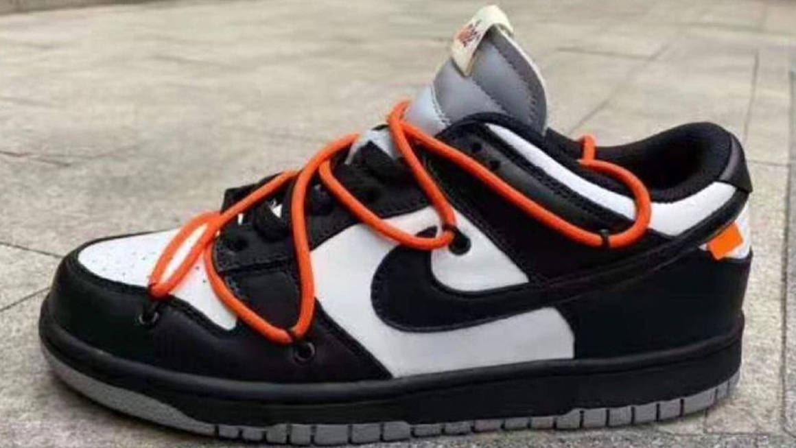 """Up Close With the Off-White x Nike Dunk Low """"Black White"""" & """"Black Grey"""""""