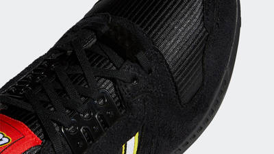 LEGO x adidas ZX 8000 Black Closeup