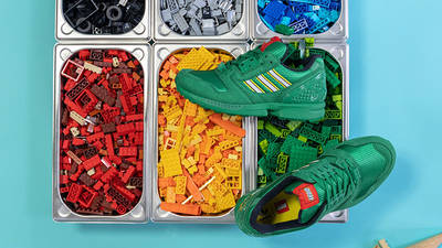 LEGO x adidas ZX 8000 Black green