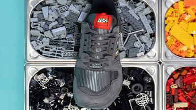 LEGO x adidas ZX 8000 Black grey lifestyle