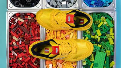 LEGO x adidas ZX 8000 Black Yellow Lifestyle