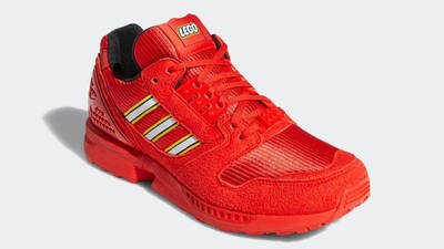 LEGO x adidas ZX 8000 Red Front