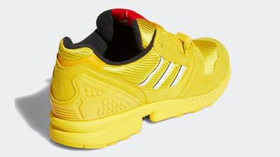 LEGO x adidas ZX 8000 Yellow White Back